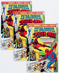 Spectacular Spider-Man #1 Group of 15 (Marvel, 1976) Condition: VF.... (Total: 15 Comic Books)