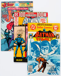 Batman Related Comics Group of 10 (DC, 1966-78) Condition: Average FN/VF.... (Total: 10 )