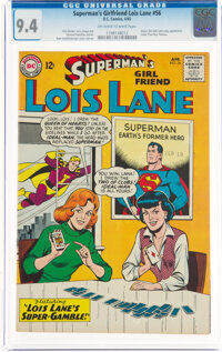 Superman's Girlfriend Lois Lane #56 (DC, 1965) CGC NM 9.4 Off-white to white pages