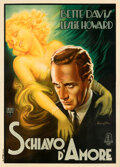 "Movie Posters:Drama, Of Human Bondage (RKO, 1934). Very Fine on Linen. Italian 4 - Fogli (55.25"" X 77.5"") Anselmo Ballester Artwork.. ..."