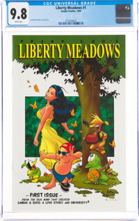 Liberty Meadows #1 (Insight Studios, 1999) CGC NM/MT 9.8 White pages