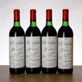 Red Bordeaux, Chateau Lafleur 1982 . Pomerol . 4ts, 1lscl. Bottle (4). ... (Total: 4 Btls. )