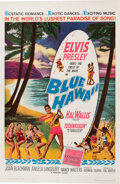 Music Memorabilia:Posters, Elvis Presley Blue Hawaii Theatrical One Sheet Poster (Paramount, 1961)....