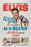 Music Memorabilia:Posters, Elvis Presley G.I. Blues Theatrical One Sheet Poster (Paramount, 1960). ...