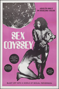 "2069: A Sex Odyssey (Distribpix, 1974). Folded, Very Fine. One Sheet (27"" X 41"") & Pressbook (4 Pages, 11&..."