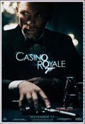 "Casino Royale (MGM, 2006). Rolled, Very Fine. Printer's Proof One Sheet (28"" X 41"") SS Advance. James Bond..."