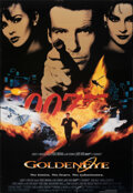 "GoldenEye (Film Freak Productions, 1995). Rolled, Fine/Very Fine. Dutch Commercial Poster (27"" X 39"") SS. Jame..."