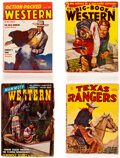 Pulps:Western, Assorted Western Pulps Box Lot (Various, 1935-58) Condition: Average VG....