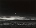Photographs, Ansel Adams (American, 1902-1984). Moonrise, Hernandez, New Mexico, 1941. Gelatin silver, printed circa 1963. 14-5/8 x 1...