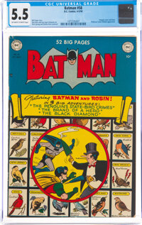 Batman #58 (DC, 1950) CGC FN- 5.5 Off-white to white pages