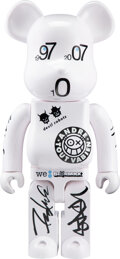 Collectible, BE@RBRICK X Colette. Colette 10th Anniversary 1000%, 2007. Painted cast resin. 28-1/2 x 13-1/2 x 9 inches (72.4 x 34.3 x...