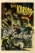 """Movie Posters:Horror, The Body Snatcher (RKO, 1945). Fine on Linen. One Sheet (27"""" X 41"""") William Rose Artwork.. ..."""