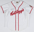 Baseball Collectibles:Uniforms, Early 1990's Ivan Rodriguez Signed Kellogg's Jersey Made for Commercial. ...