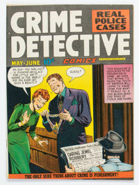 "Crime Detective Comics #2 Davis Crippen (""D"" Copy) Pedigree (Hillman Publications, 1948) Condition: VF+"