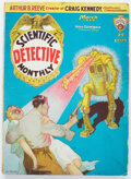 Pulps:Science Fiction, Scientific Detective Monthly - March 1930 (Gernsback Publications) Condition: VG/FN....
