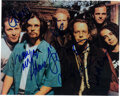 Music Memorabilia:Autographs and Signed Items, Counting Crows Signed Photo....