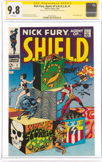 Nick Fury, Agent of S.H.I.E.L.D. #1 Signature Series: Jim Steranko (Marvel, 1968) CGC NM/MT 9.8 White pages