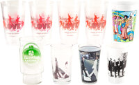 The Beatles Assortment of Drinking Glasses (9) (1990s-2000s)