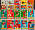 Football Cards:Lots, 1956 & 1957 Topps Football Collection (121)....