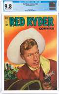 Golden Age (1938-1955):Western, Red Ryder Comics #100 (Dell, 1951) CGC NM/MT 9.8 Off-white to white pages....