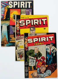 The Spirit Group of 6 (Quality/Fiction House, 1947-52).... (Total: 6 Comic Books)