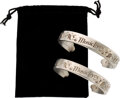 Music Memorabilia:Memorabilia, Paul McCartney Promo Music Lives Jewelry Bracelets With Pouch (2) (2005)....