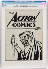 Action Comics #1 (Ashcan) (DC, 1938) CGC NM- 9.2 Cream to off-white pages