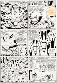 Jack Kirby, George Tuska, and Wally Wood Tales of Suspense #72 Story Page 4 Original Art (Marvel, 1965)