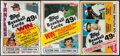 Baseball Cards:Unopened Packs/Display Boxes, 1981-84 Topps Baseball Unopened Cello Pack Lot of 3 With Stars on Top - Raines, Boggs & Mattingly. ...