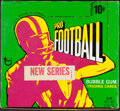 Football Cards:Unopened Packs/Display Boxes, 1971 Topps Football Series 2 Empty Display Box. ...