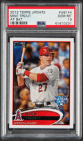 Baseball Cards:Singles (1970-Now), 2012 Topps Update Mike Trout #US144 PSA Gem Mint 10....