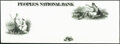 Peoples National Bank 1860s Proof Very Fine