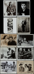 """Movie Posters:Photo, Photo Lot (1940s-1970s). Overall: Fine/Very Fine. Photos (600+) (Approx. 8"""" X 10"""") Miscellaneous.. ... (Total: 600 Items)"""