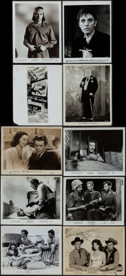 """Photo Lot (1940s-1970s). Overall: Fine/Very Fine. Photos (600+) (Approx. 8"""" X 10"""") Miscellaneous. ... (Total:..."""