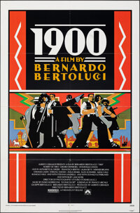 "1900 (Paramount, 1977). Folded, Very Fine-. One Sheet (27"" X 41"") Doug Johnson Artwork. Foreign"