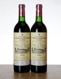 Chateau La Mission Haut Brion 1982 Pessac-Leognan 2bn Bottle (2)