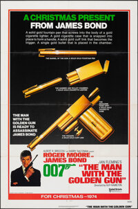 "The Man with the Golden Gun (United Artists, 1974). Folded, Very Fine-. One Sheet (27"" X 41"") Advance, Robert..."