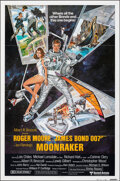 "Movie Posters:James Bond, Moonraker (United Artists, 1979). Folded, Very Fine+. International One Sheet (27"" X 41"") Style B, Dan Goozee Artwork. James..."