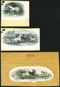 Three (National) BNCo Vignettes- Mare and Colt; Horses at Play; Horse and Dog