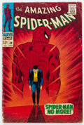 Silver Age (1956-1969):Superhero, The Amazing Spider-Man #50 (Marvel, 1967) Condition: FR/GD....