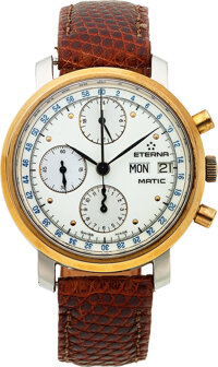 Eterna-Matic, Fine Self-Winding Chronograph With 24 Hour Indication, Day-Date, circa 1970
