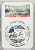 """China: People's Republic 10-Piece Lot of silver Proof """"Smithsonian Institution - Mei Xiang and Tian Tian"""" One..."""