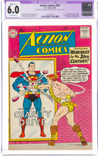 Action Comics #267 (DC, 1960) CGC Apparent FN 6.0 Slight (C-1) Off-white pages