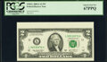 Small Size:Federal Reserve Notes, Fr. 1938-L $2 2003A Federal Reserve Note. PCGS Superb Gem New 67PPQ.. ...