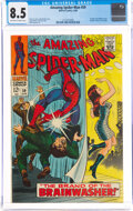 Silver Age (1956-1969):Superhero, The Amazing Spider-Man #59 (Marvel, 1968) CGC VF+ 8.5 Off-white to white pages....