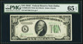 Small Size:Federal Reserve Notes, Fr. 2008-K $10 1934C Wide Federal Reserve Note. PMG Gem Uncirculated 65 EPQ.. ...