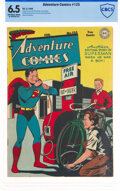 Golden Age (1938-1955):Superhero, Adventure Comics #125 (DC, 1948) CBCS FN+ 6.5 Off-white to white pages....