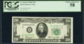 Small Size:Federal Reserve Notes, Fr. 2064-B $20 1950E Federal Reserve Notes. Three Examples. PCGS Choice About New 58.. ... (Total: 3 notes)