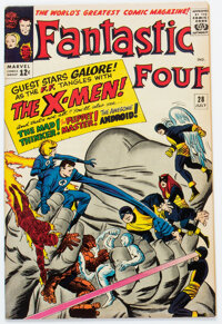 Fantastic Four #28 (Marvel, 1964) Condition: FN/VF