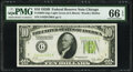Small Size:Federal Reserve Notes, Fr. 2002-G $10 1928B Light Green Seal Federal Reserve Note. PMG Gem Uncirculated 66 EPQ.. ...